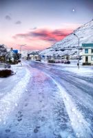 Iceland - first day of winter by PatiMakowska