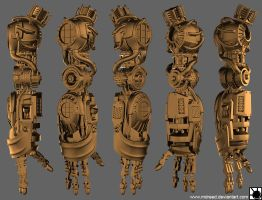 Project Bioshock - ArmSheet by MDreed