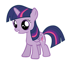 Twilight Sparkle Filly by Posey-11
