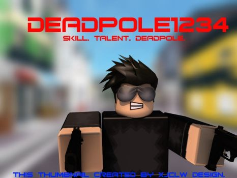 A render I made for DeadPole1234 on ROBLOX. by Stuff-incorporated