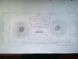 boombox by epicosmidy18