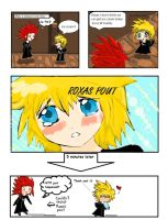 Roxas Pout by TouchMySitar