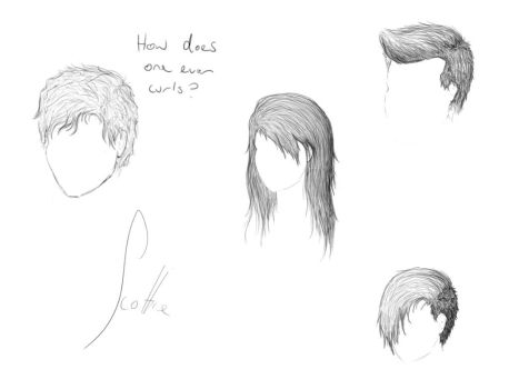 A Study in Hair by ScottieDoctor