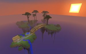 Minecraft - Floating Island Server by unusual229