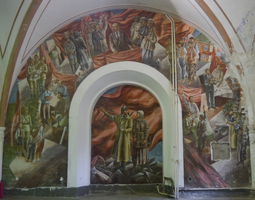 Museum Mural of Soviets by Party9999999