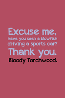 Bloody Torchwood by inkandstardust