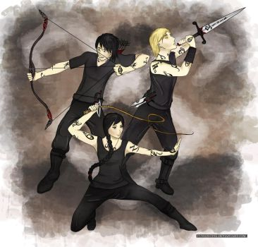 The Lightwood Gang by fungostine