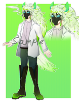 Masked adoptable auction (CLOSED) by dratinigirl