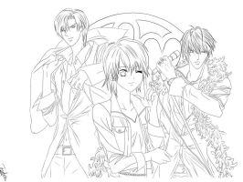 lineart by anime2008