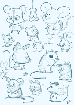 Mice by Arctic-Bunny