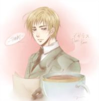 Re-submit : Hetalia - Tea Time by opor-more