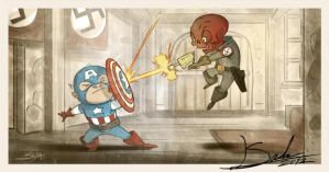 The First Avenger by SachaLefebvre