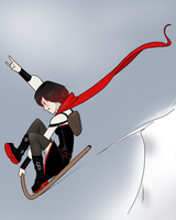 Ruby Sled by Cadhla182