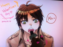 Happy Valentine's Day Eren! by moonu17