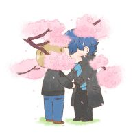 [BBC SHERLOCK] Kiss under the cherry blossom by twosugars16