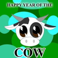 Year of the Chibi Cow by BlackRoseDevil