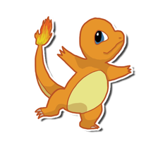 Charmander! by GoWaterTribe