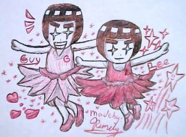 Two Dancing Idiot's by RockingHeart