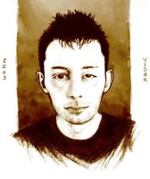 Thom Yorke by sausage-of-joy