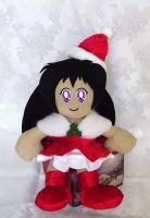 Rei Hino Christmas Plushie by alternativeicandy
