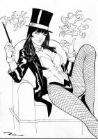 Ric: Zatanna by comiconart