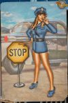 Pinups - Police Stop! by warbirdphotographer