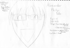 My OC Alex mostly known as Pip by HyperCanaryFairy