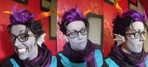 Eridan cosplay test pics by Necr0w