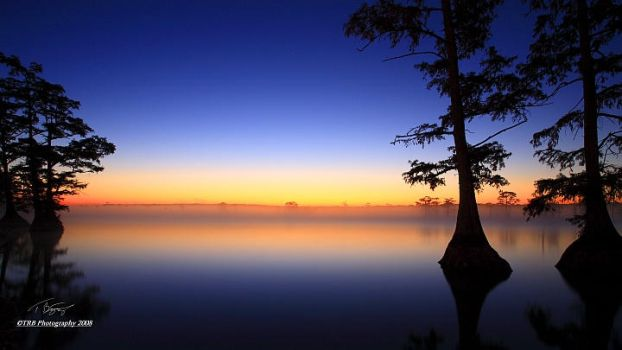 Sunrise Reelfoot Lake by TRBPhotographyLLC