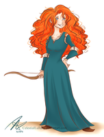Merida by CelestialLullaby