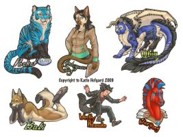 Full Body Badge- round 6 and 7 by KatieHofgard