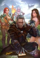Shut up and let's play Gwent!!!!! by HXH17