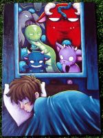- monsters, part 1 - by mutsy