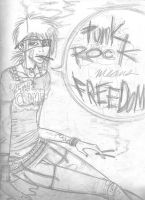 Punk Rock Means Freedom. by bil-let-doux