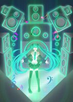 Hatsune Miku by ksugarfree