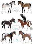 Foals for Shelby-3000(3) and CallOnDeltaBravo by Drasayer