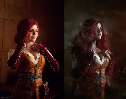 Witcher - Triss Merigold by fenixfatalist