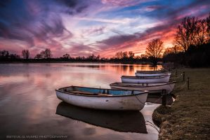 Lake Of Fire by Photographystev