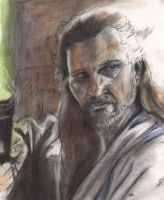 Qui Gon by monstercola