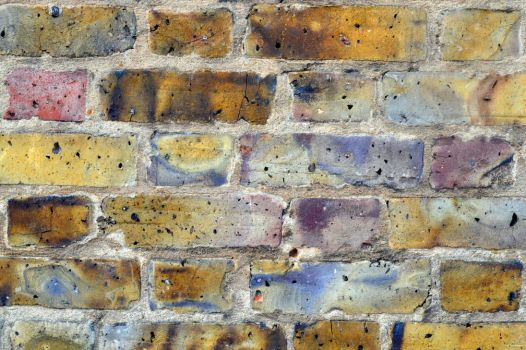 Coloured Brick Stock Texture by aegiandyad