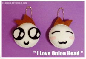 Onion Head Key Chain... by SongAhIn