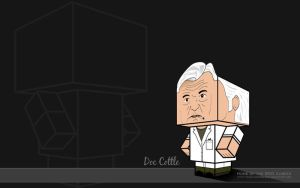 Doc Cottle Lab Coat Wallpaper by BSG75
