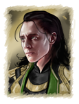 Loki by LadyMintLeaf