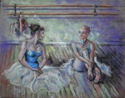 Ballet Girls 2 by veridian-two