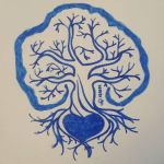 Inktober 2016/01 - Fast (Tree Of Life) by PizzaFisch