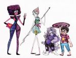 Tim Burtonned Crystal Gems by La-Chapeliere-Folle
