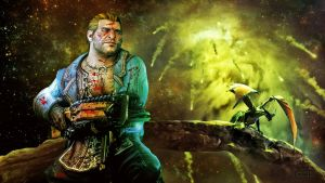 Varric Tethras, Locked and Loaded by thecannibalfactory