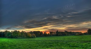 Sunset in Germany by Creative--Dragon