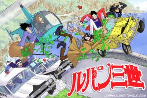 Lupin III - The Chase (Red Jacket Version) by joshmauser