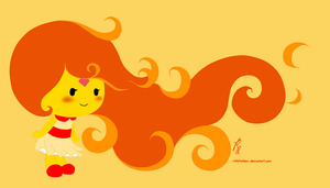 flame princess :D by roleholder